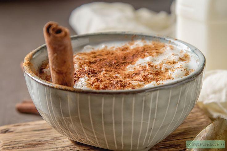 I believe in dessert for breakfast! Want als ontbijt is deze vegan rijstpap natuurlijk ook heel erg lekker. Of misschien nog wel lekkerder...