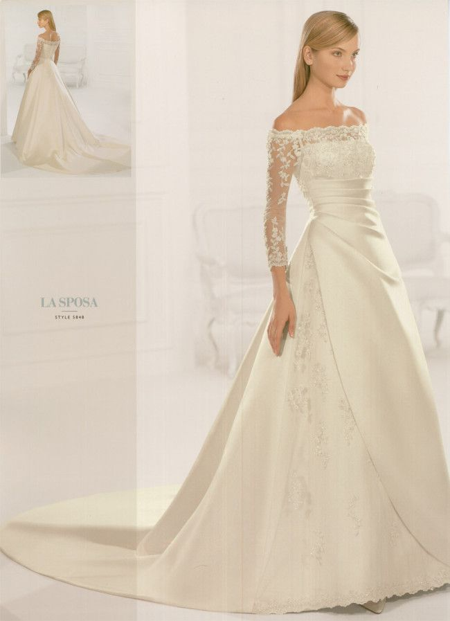 Beautiful winter wedding dress bridal fashion for Winter style wedding dresses