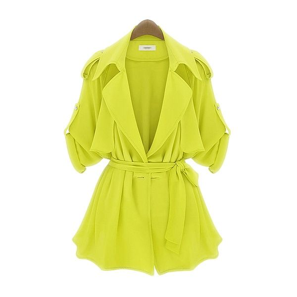 New Arrival Spring/Autumn Collection Short Style Coat In Pure Colour