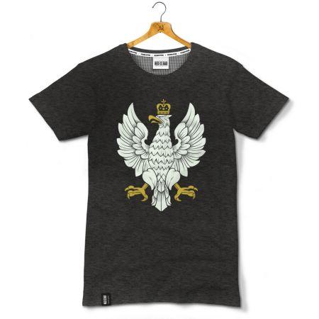 Koszulka patriotyczna Orzeł II Rzeczpospolitej - 2 edycja - odzież patriotyczna, koszulki męskie Red is Bad