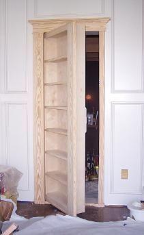 how to make a secret door a room or closet