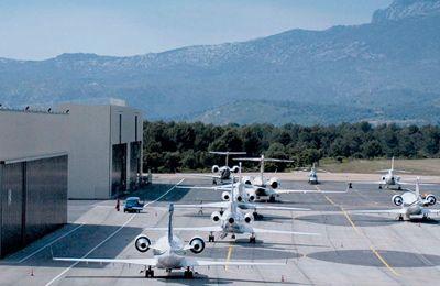 FBO, Ground Handling in Le Castellet, France (LFMQ