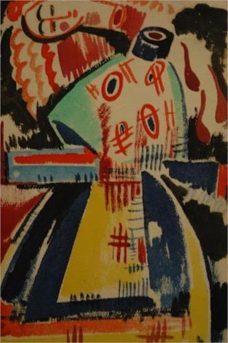 Woman sevant - Amadeo de Souza-Cardoso, 1914 Cubism, Expressionism