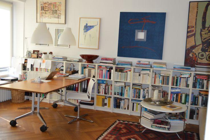 Urban Style, Bohemian, Bilder und Bücher, farbenfroh