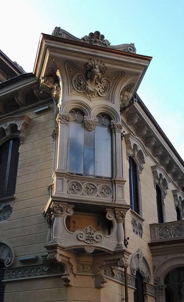 Villino Raby, Torino, Corso Francia. Pietro Fenoglio, 1901 Piemonte