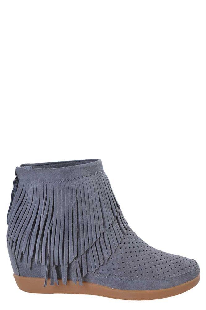 Shoe the Bear støvle Emmy Fringes grey SS16-W56