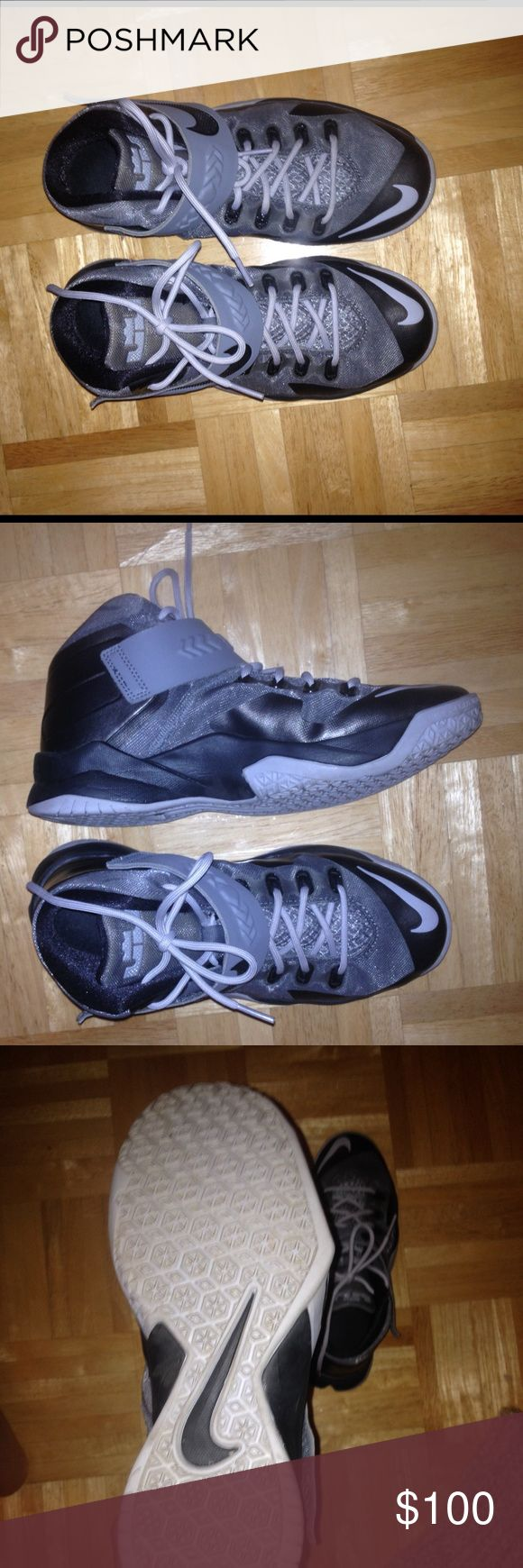 Lebron James shoes/ 6Y Lebron James shoes/6Y. Worn twice Nike Shoes