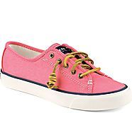 Seacoast Canvas Sneaker, Coral -  want want want from the Sperry store