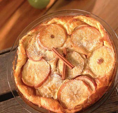 Dutch apple baby dessert