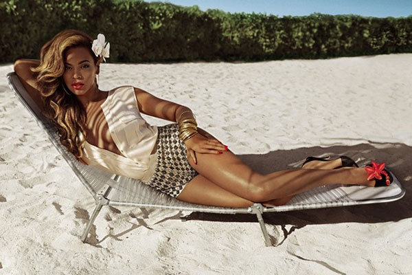 Beyoncé Hits The Beach In Style As The New Face Of H and M