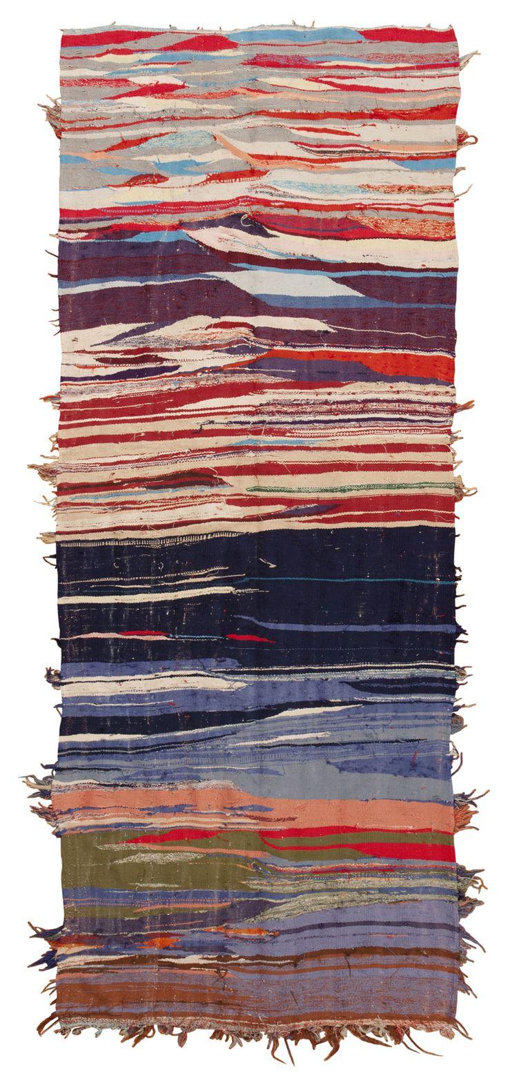 # Tapis marocain # # millésime # années 50 # textile