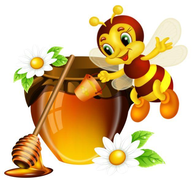 Картинка пчелка с медом, труда картинки