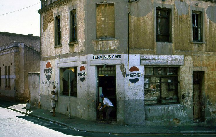 A corner cafe in District Six