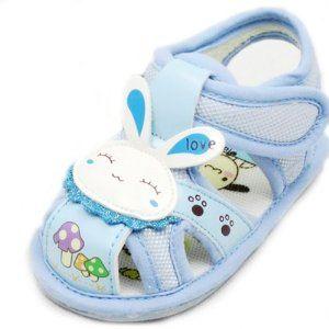 Sepatu Anak Anak - Lembut Biru Bayi Balita Bayi Anak Anak Kelinci Putri Sandal Sepatu X47z   Pusat Sepatu Bayi Terbesar dan Terlengkap Se indonesia