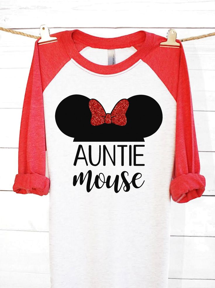 Auntie Mouse | Disney Shirts | Disney Family Shirts | Minnie Mouse Shirt | Minnie Mouse | Disney Clothing | Aunt Shirt | Auntie Shirt | Gift by ShopFickleFox on Etsy https://www.etsy.com/listing/511081386/auntie-mouse-disney-shirts-disney-family