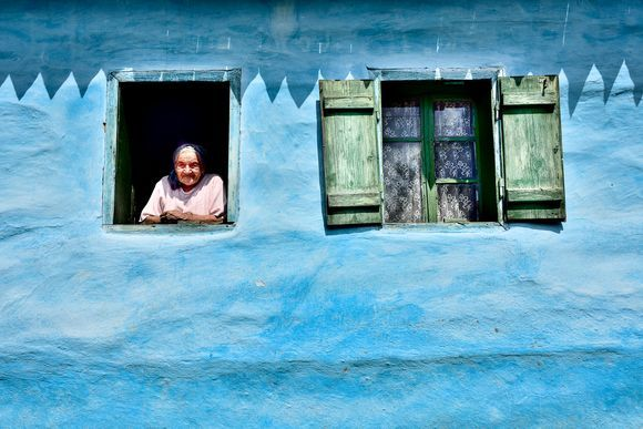 Granny Erzsebet from Jimbor Village