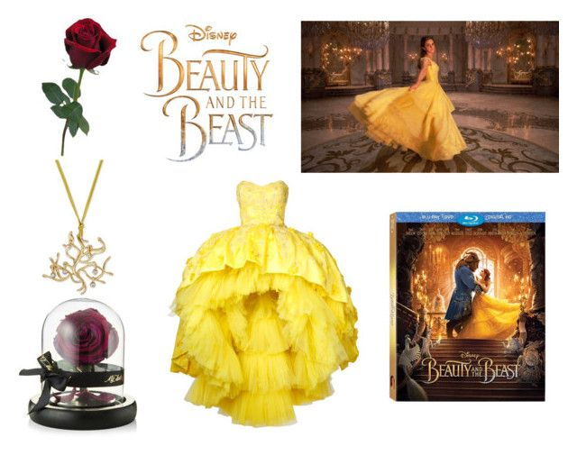 """""""The Beauty and the Beast"""" by gothicvamperstein on Polyvore featuring Disney, Mikael D, Laredo, BeautyandtheBeast and contestentry"""