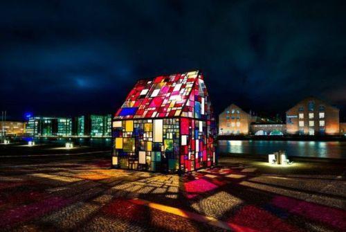 : Copenhagen, Stainedglass, Stainglass, Color, Glasses Art, Art Houses, Toms Fruin, Stained Glasses, Glasses Houses