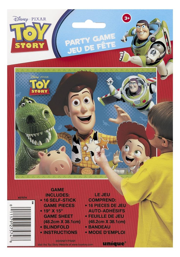 Toy Story Birthday Games : Best images about birthday party toy story on