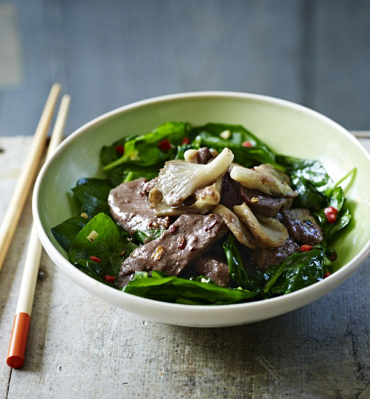 This beef stir-fry with oyster sauce is perfect for a mid-week supper.