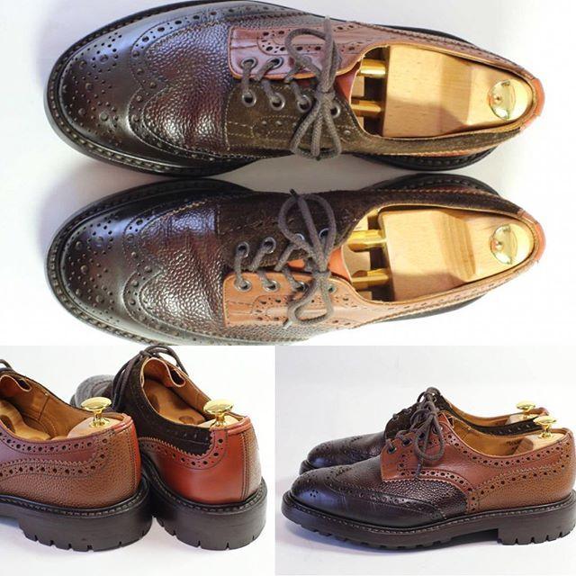 2017/07/12 22:28:57 shoesaholic1 TRICKER'S CRAZY PATTERN BURTON. * とってもオシャレなクレイジーパターンのバートンです。 * カーフ、スエード、グレインカーフなど色々な素材とカラーが組み合わせてある一足で、中々履いている人もいない為、オススメです。 * ITEM ID : 849 * #trickers  #トリッカーズ  #シューホリック #shoes #Mensshoes #shoepolish #boots  #Mensfashion #bespoke #tailar #stylish #fashiongram #instastyle #lookbook #luxury #gentleman #styleforum #ootd #高級靴 #靴磨き #足元くら部 #足元倶楽部  #高級 #オールデン #パラブーツ #ジョンロブ #エドワードグリーン  #クロケットアンドジョーンズ