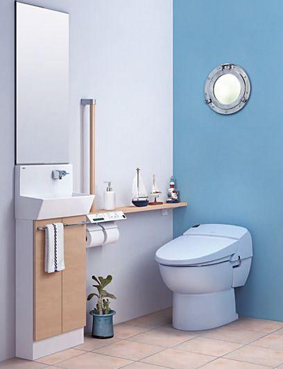 LIXIL | トイレ | サティス | 施工イメージ | Plan-1418(サティスEタイプ)