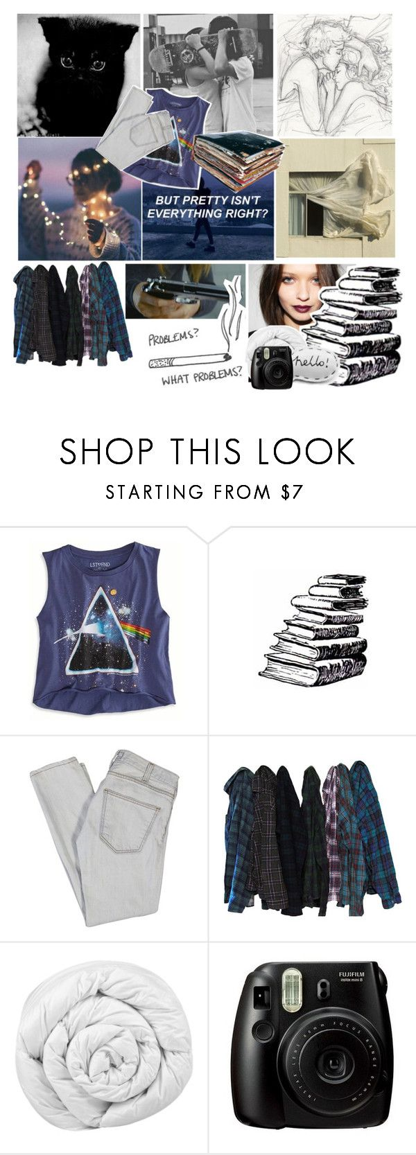 """life"" by queen-of-darkness-1 ❤ liked on Polyvore featuring Prada, American Eagle Outfitters, Current/Elliott, Brinkhaus and Fujifilm"