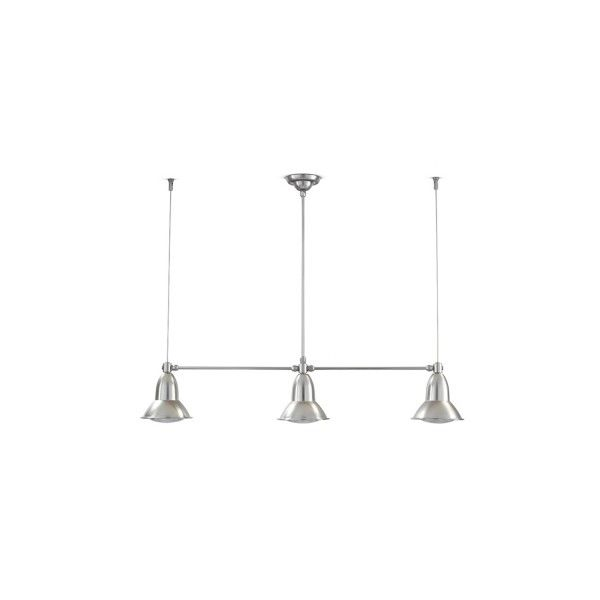 Outdoor three-lights pendant lamp Clematide (€570) ❤ liked on Polyvore featuring home, outdoors, outdoor lighting, outside patio lights, outside yard lights, outdoor pendant lighting and outdoor yard lights
