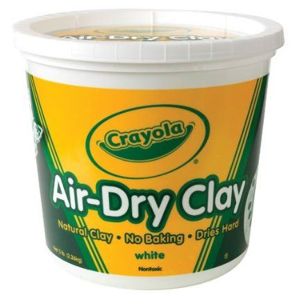 Crayola air dry clay projects