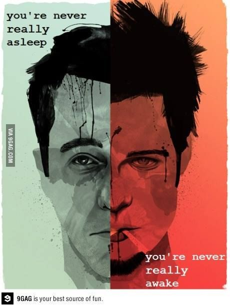 """God Damn! We just had a near-life experience, fellas."" - Fight Club"