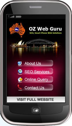 Mobile website company
