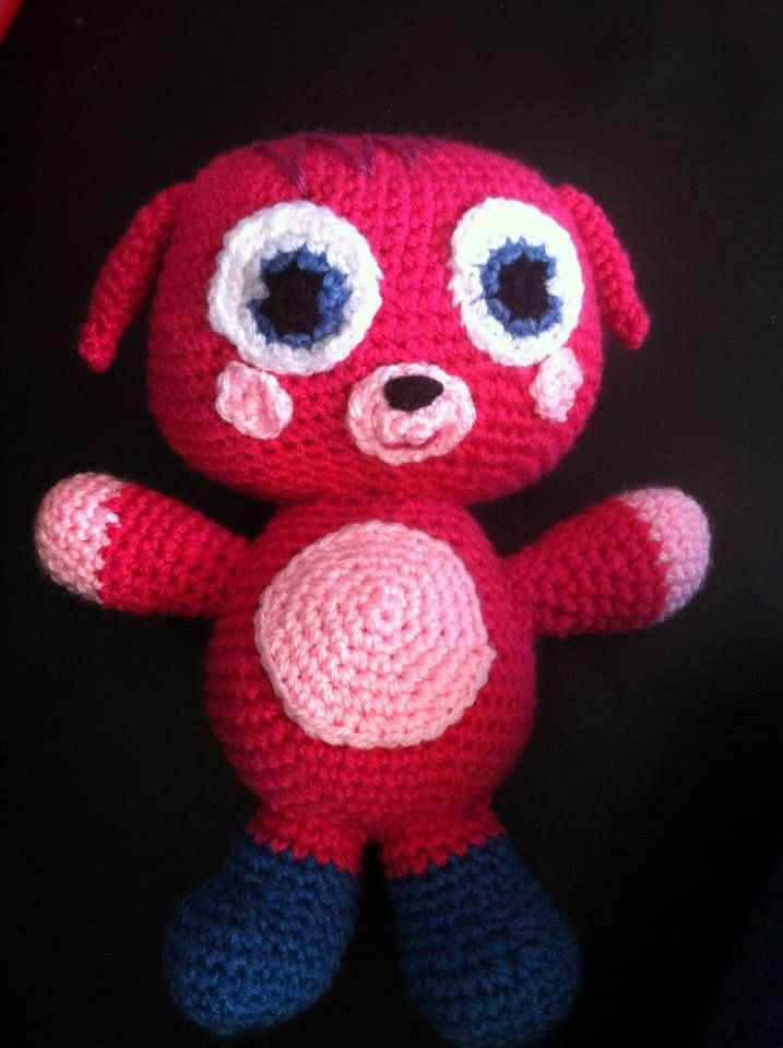 Amigurumi Moshi Monsters : Poppet moshi monster! designed by https://www.facebook.com ...