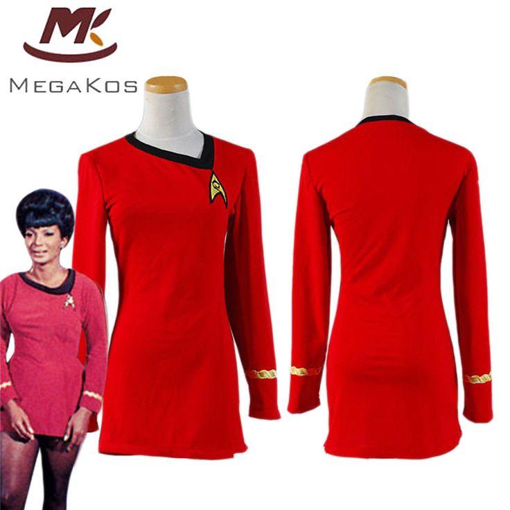 Star Trek TNG Kleid Uniform Cosplay Kostüm Karneval Fasching Party Damen Rot NEU | Kleidung & Accessoires, Kostüme & Verkleidungen, Kostüme | eBay!