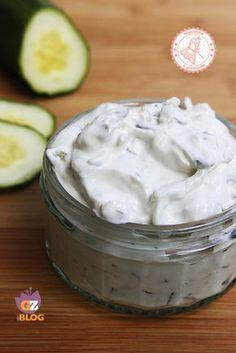 TZATZIKI salsa greca allo yogurt - ALLACCIATE IL GREMBIULE