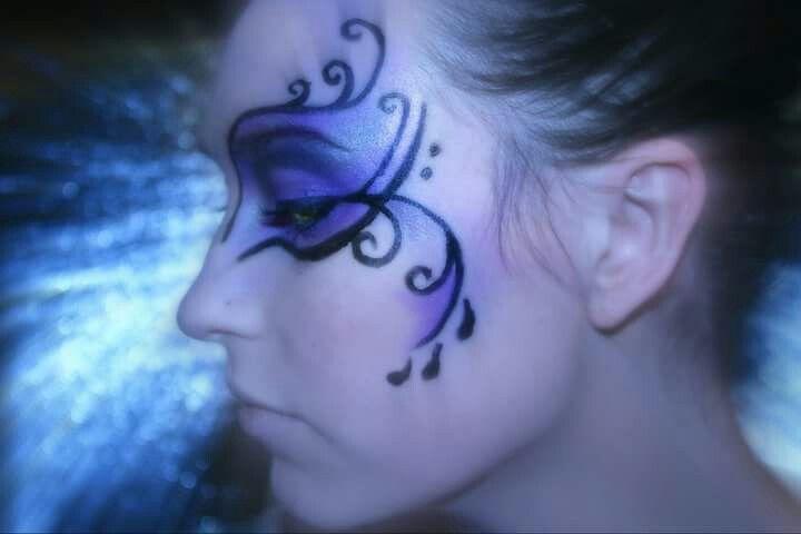 Fantasy Masquerade makeup