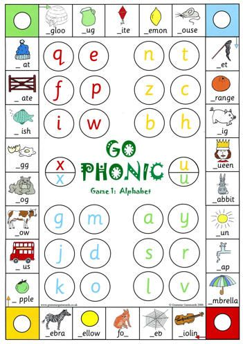 Phonic Games and other Spelling Games