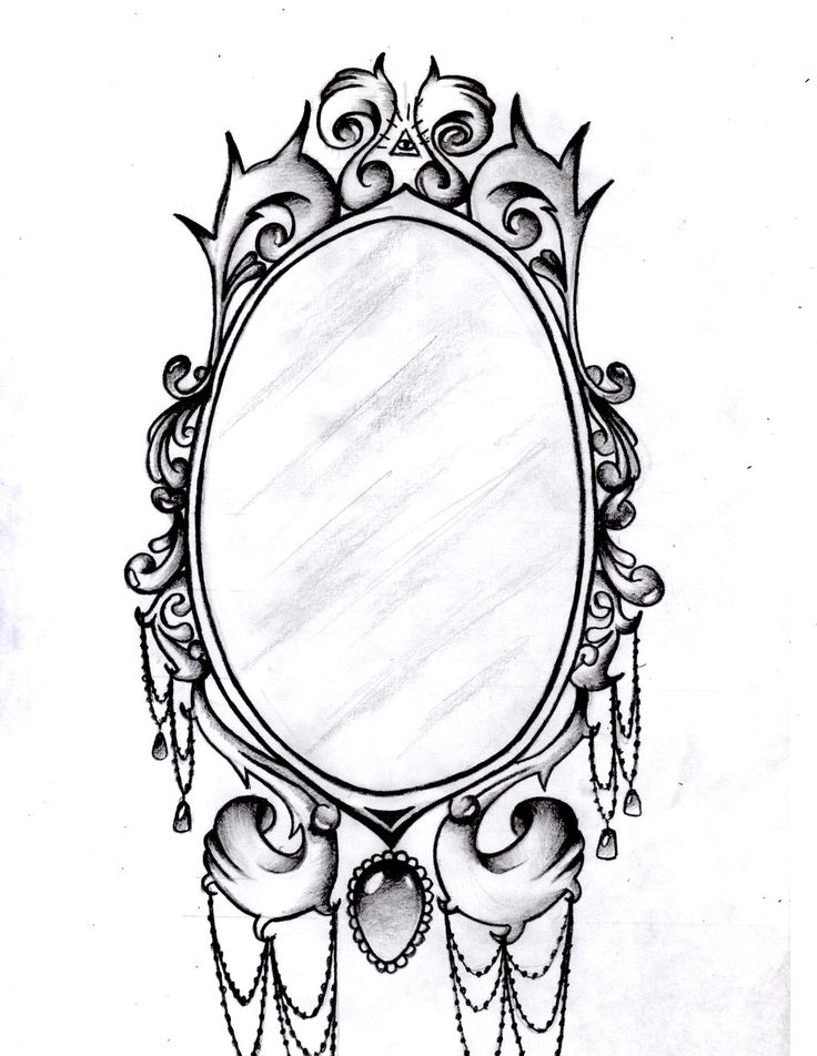 frame tattoo designs mirror frame by aimstar designs interfaces tattoo design 2013 2014. Black Bedroom Furniture Sets. Home Design Ideas