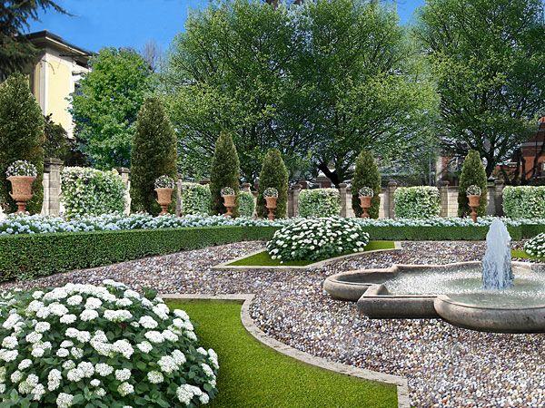 Le 25 migliori idee su Progettazione Di Giardini su Pinterest  Progettazione giardino di casa ...