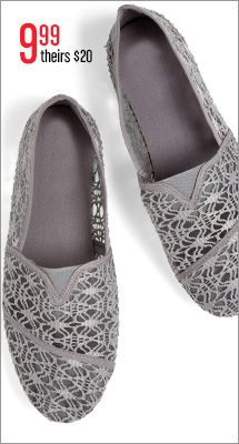 When grey is anything but dull! #Gordmans #shoes