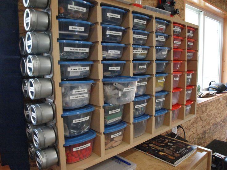 Hardware Storage   By KMT @ LumberJocks.com ~ Woodworking Community