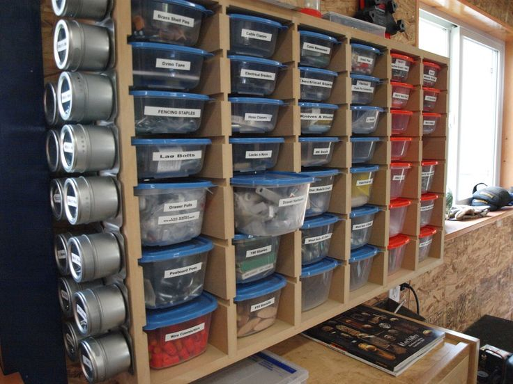 Hardware Storage - by KMT @ LumberJocks.com ~ woodworking community