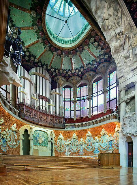 Palacio de la musica. Barcelona