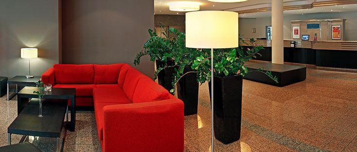 Lobby | H+ Hotel Leipzig-Halle