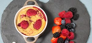Baked oats - Recipes - Slimming World change vanilla yogurt to natural remover sweetener to make clean