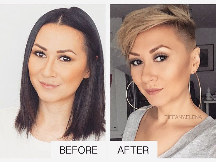 278 best images about short haircut on pinterest shorts for 3 brunettes and a blonde salon