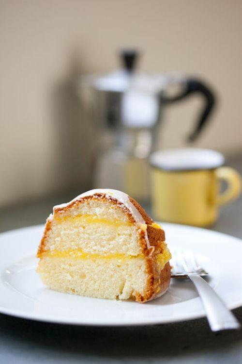 Gluten-Free Layered Lemon Pound Cake | Cakes & Stuff | Pinterest