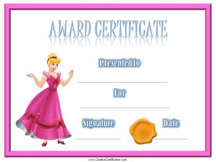 award-certificate-cinderella.jpg (960×720)