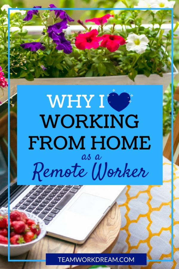 Why Do You Want To Work From Home Remotely