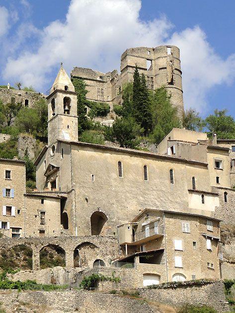 Montbrun les Bains, Drôme Provençale, France