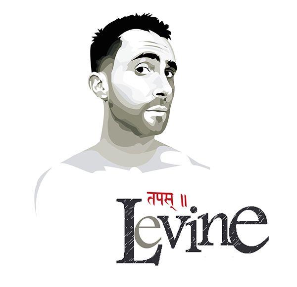 Adam Levine Vector by Allysen Karima, via Behance
